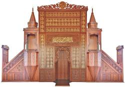 - Minber-Mihrap-Vaiz Kürsüsü 1005