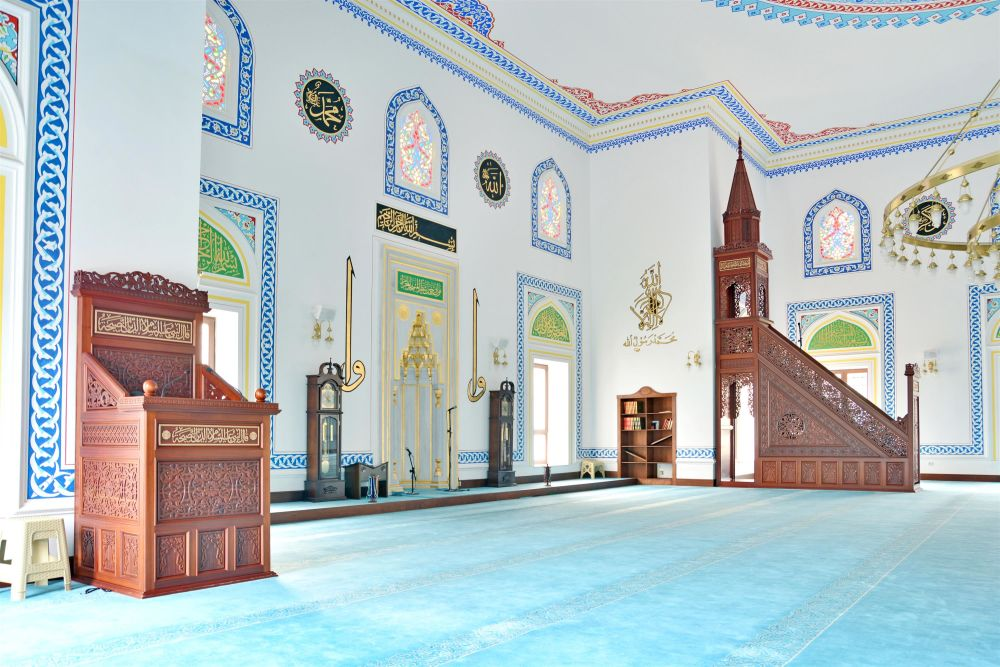 İstanbul Topkapı Süleyman Çetin Sayan Camii